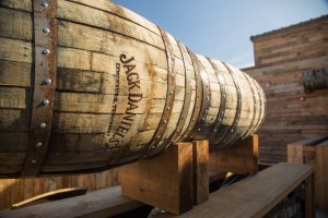 Custom Jack Daniel Barrel Planters