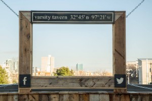 Varsity Tavern Location Picture Frame
